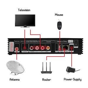 Image 4 - ТВ приставка GT Media V8 Nova, спутниковый ресивер RCA, H.265, встроенный Wi Fi + 1 год, Европа, Испания, CCcam Clines, версия V8 Super