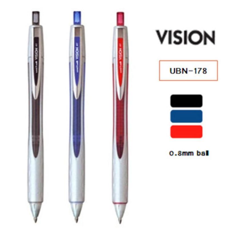 2017 Brand 3 Pieces/Lot Japanese UNI UBN-178 Gel Pen 0.8MM мойка florentina эльба бежевый