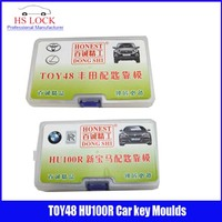 TOY48& HU100R car key moulds for key moulding Car Key Profile Modeling locksmith tools