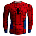 Spiderman Costume Long Sleeve 3d Compression T Shirt Men Superhero Cosplay  Spider Man T-Shirt Marvel Spider-man Tshirt