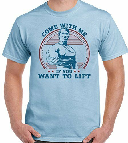 As Worn By Arnold Schwarzenegger Come With Me If You Want To Lift Mens T Shirt 2019 fashion t shirt, 100% cotton tee shirt