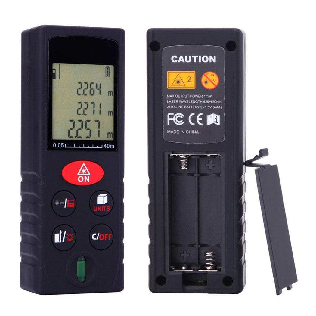 100M Handheld Digital Laser Distance Meter Mini Laser Range Finder Distance Meter Tape Measure Drop Shipping