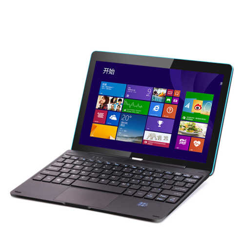 2in1 Windows Tablet Quad Core Windows 10 Tablet 10.1 Inci 2GB RAM 64GB ROM dengan Docking Keyboard
