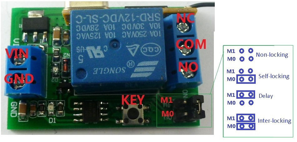 HTB1Pk0JJpXXXXccXFXXq6xXFXXXO 315m dc 12v 1 5000s adjustable delay timer wireless relay remote time delay transfer switch wiring diagram at gsmx.co