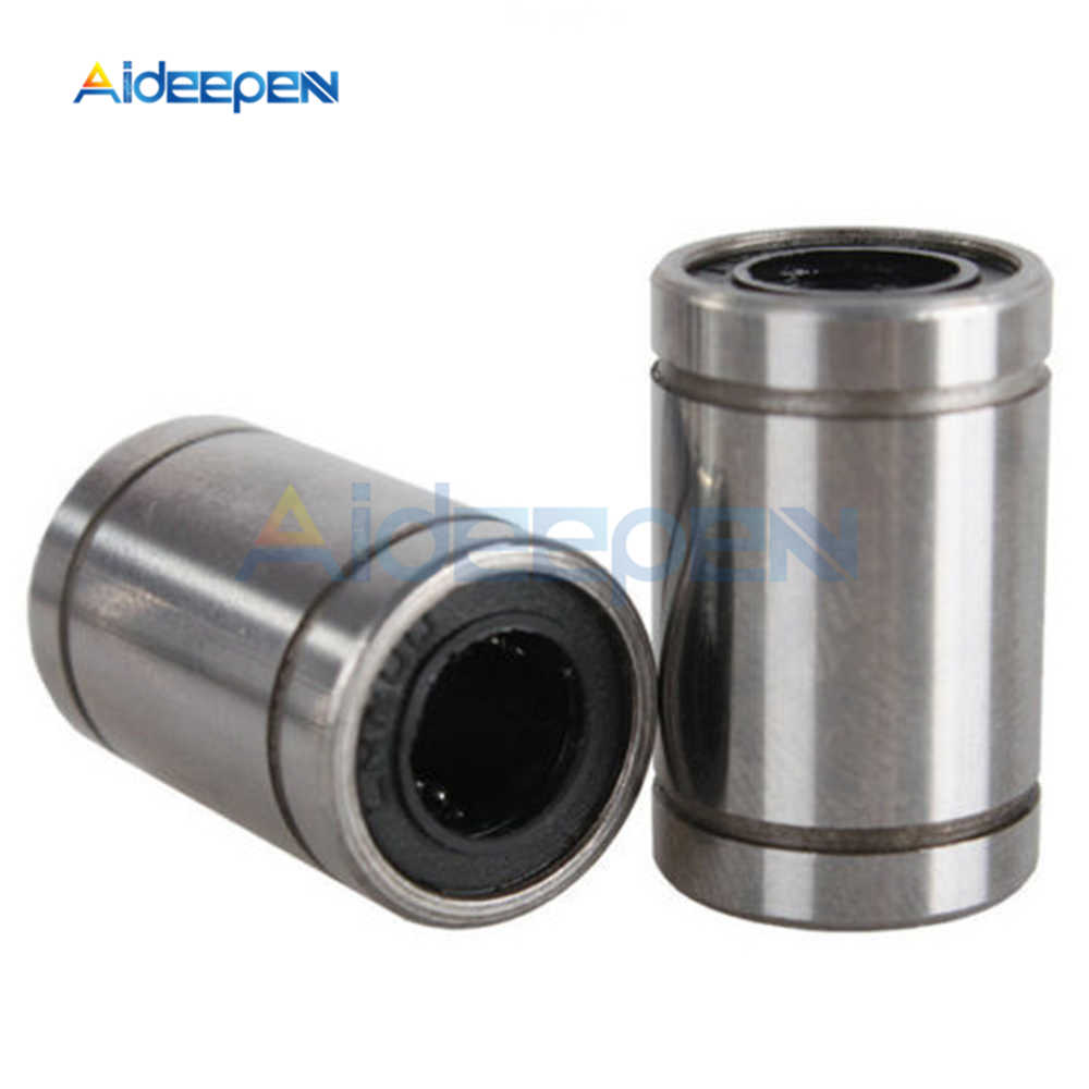 2Pcs/lot LM8UU Linear Bushing 8mm CNC Linear Bearings for Rods Liner Rail Linear Shaft Parts