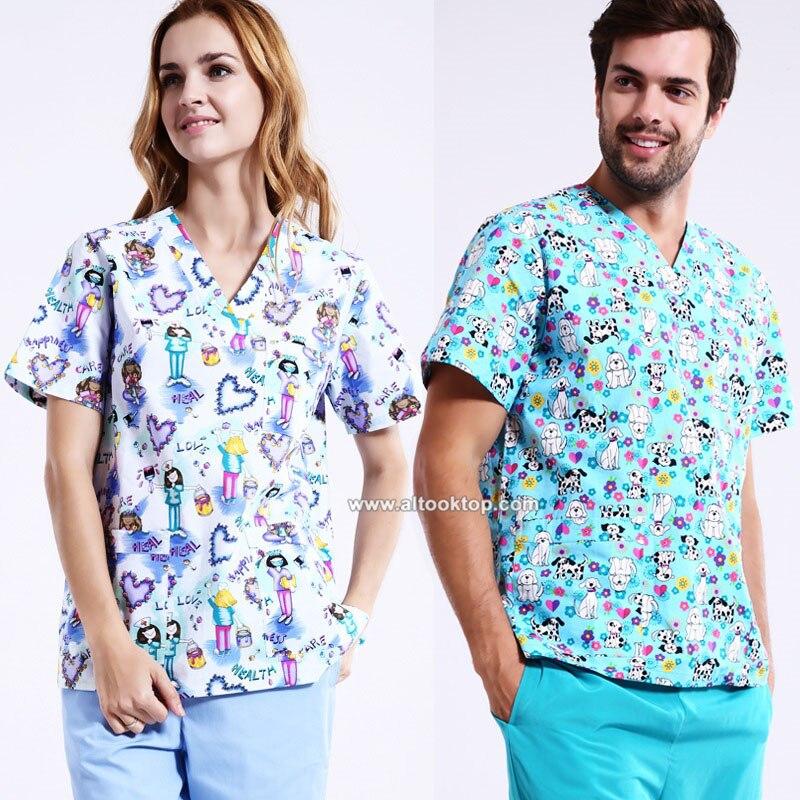 Plus size hospital women medical robe scrub medical for Spa uniform canada