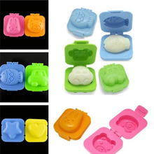 Boiled Egg Mold Cute 6 Pcs 3D Design