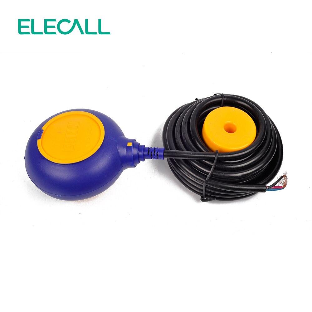 Offre spéciale 6 M contrôleur interrupteur à flotteur commutateurs de liquide liquide fluide niveau d'eau interrupteur à flotteur contrôleur contacteur capteur