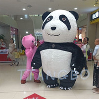 New Style Inflatable Panda Polar bear Costume mascot For Advertising 3M Tall Customize For Adult Suitable For 1.7m To 1.8m