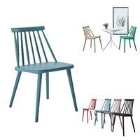 Nordic Windsor стул классический стиль современный американский обеденный стул цвет пластиковый стул для досуга стул в стиле кофе мебель для гост