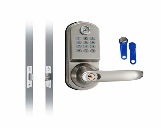 Home Security Electronic Digital Code Keyless Keypad Entry Door Lock