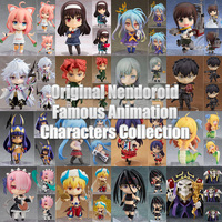 10CM Original Nendoroid Famous Animation Characters ABS & PVC Painted action figure collection toy doll with box
