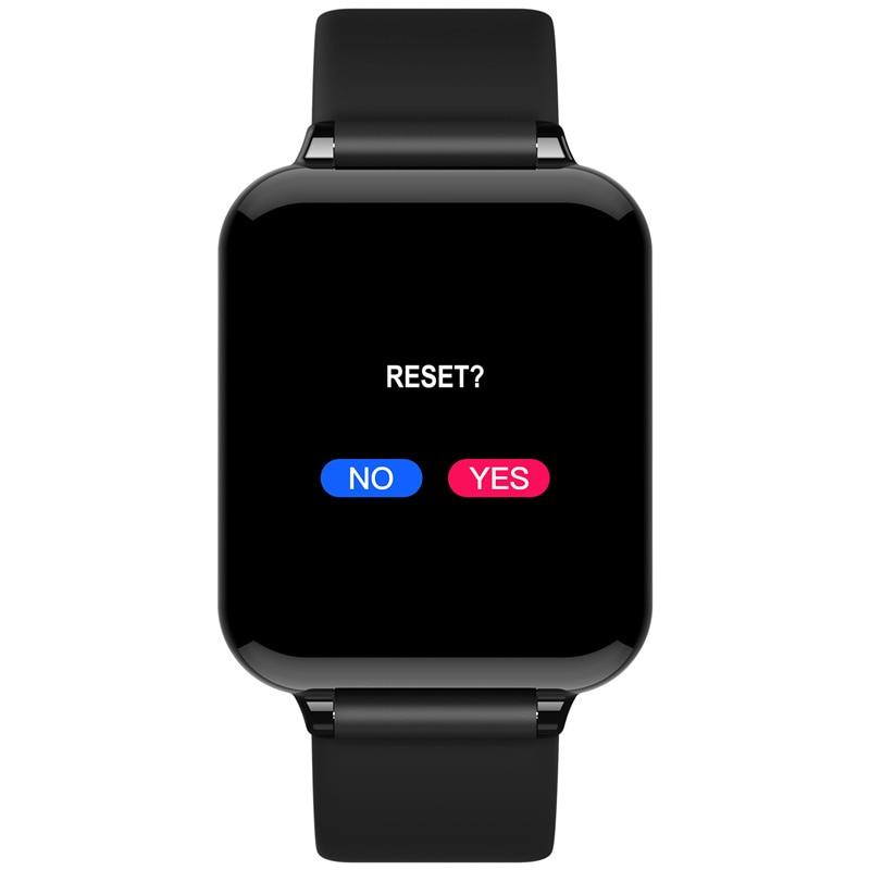 B57 Smartwatch Waterproof Bluetooth Bracelet Heart Rate Monitor Wristband Fitness Tracker Smart Watch B57C Strap Charging Cable