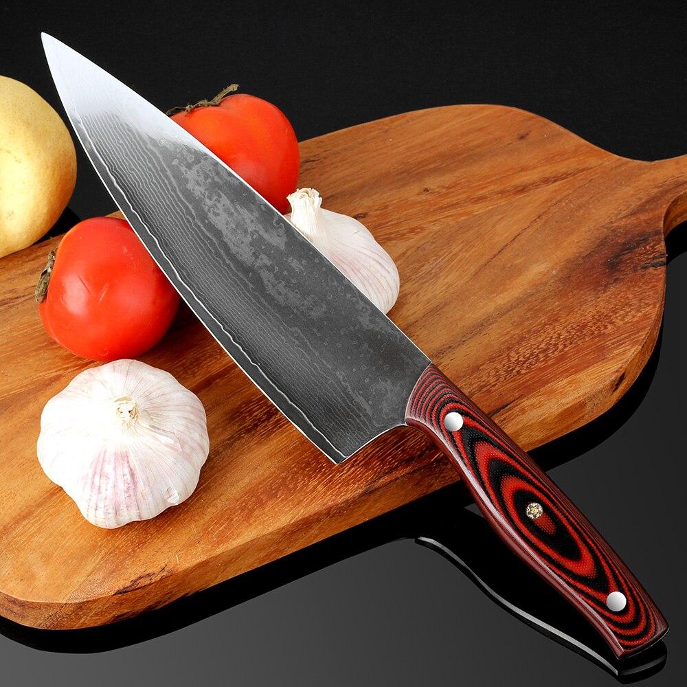 Damaskus Messer 8 \