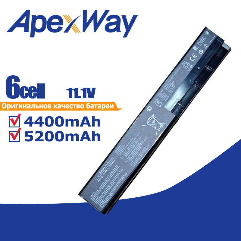 ApexWay x501a battery for Asus A31 X401 A32 X401 A41 X401 A42 X401 F301 F301A F301A1 F301U F401 F401A F401A1 F401U F501U S501-in Laptop Batteries from Computer & Office on