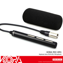KORA מצלמת וידאו מיקרופון עבור Sony HXR NX30 HXR NX70 HXR NX5 DSR PD170 HVR A1 HDR AX2000 HVR Z7 HVR Z5 HVR Z1 מחליף ECM XM1