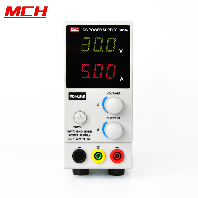 <font><b>MCH</b></font>-<font><b>K305D</b></font> 0-30V 0-5A Adjustable Regulated DC Switching Power Supply Laboratory DigitDisplay Adjustable Power Supply image
