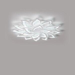 Image 4 - Современные светодиодные потолочные лампы, светильники для столовой, гостиной, украшения дома, лампа для спальни, ресторана, Диммируемый блеск
