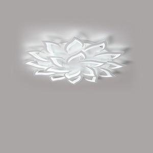 Image 4 - Luminárias modernas de teto com led, sala de jantar, decoração de casa, para quarto, restaurante, iluminação, regulável, lustre