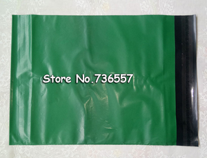Image 3 - Sac de courrier, enveloppe de courrier, pour logistique, vert blanc/rose, 100 pièces, pochette en plastique auto adhésive, 20x30cm