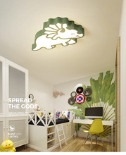 LICAN Ceiling Lights for Kids Bedroom Cartoon Boys Girls Lamp Modern LED Animal childre