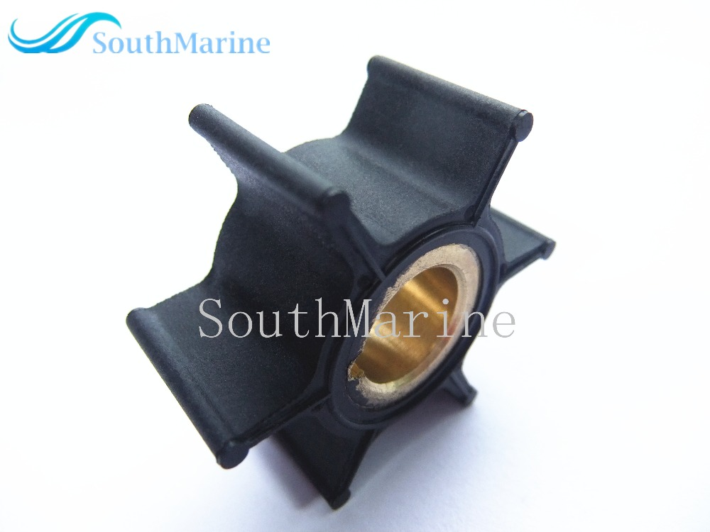 Boat Engine Impeller 3B2-65021-1 for Tohatsu Nissan 6HP 8HP 9.8HP Outboard motor Water Pump , Free shipping free shipping 12mm thickness 60mm od 36 teeth brass water pump impeller copper tone