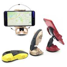 Universal Car Mount Phone Holder 360 Degree Rotation Sports Model Stand For 3.5-6 inch Cell