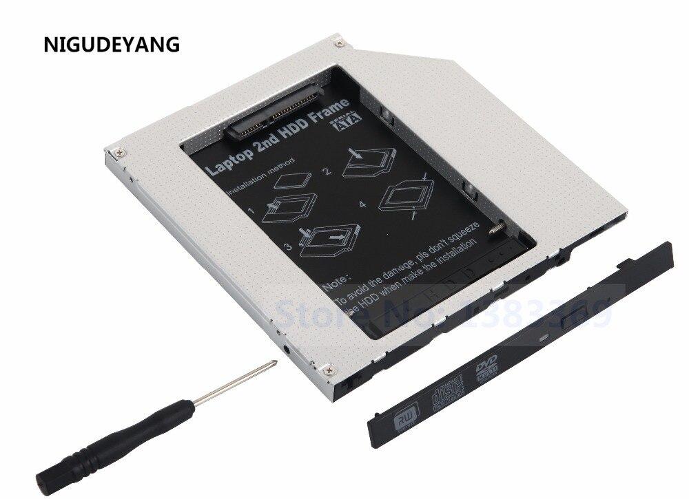 Caddy-Adapter ODD Macbook NIGUDEYANG IDE for Pro 857ca/A1150/A1211/.. HDD 2nd-Ide