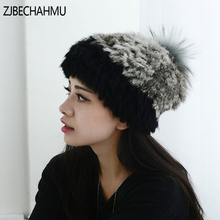 Fashion Real Fox Fur Raccoon Hats For Women Girl Winter Warm Vingate Elegant Skullies Beanies Hat Caps New Apparel Accessories цены онлайн