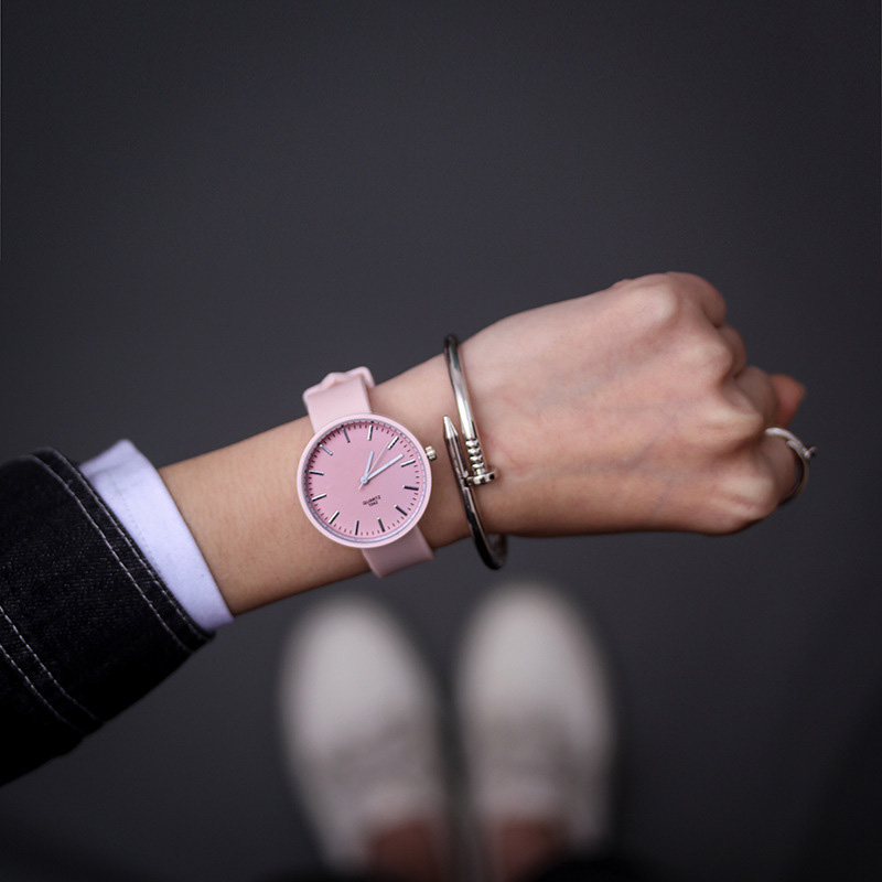 Simple Silicone Wrist Watch Women Watch Ladies Quartz Wristwatch For Woman Clock Female Hour Hodinky Montre Casual Style