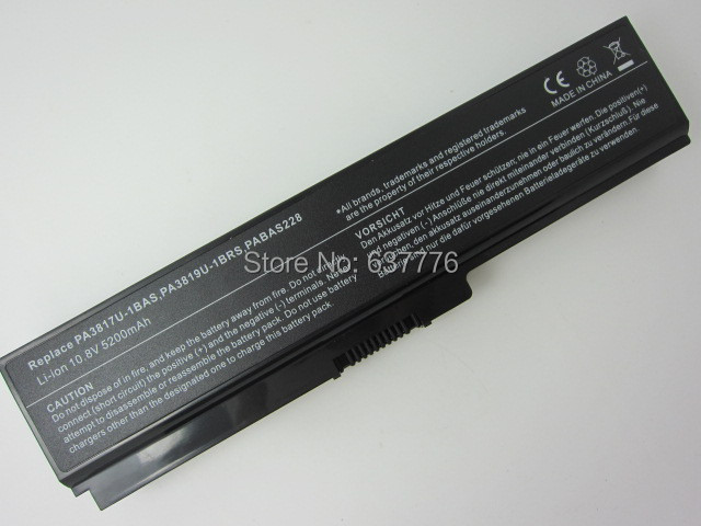 Новая батарея для ноутбука forTOSHIBA Satellite PA3817U-1BAS PA3817U-1BRS L700 L730 L735 L740 L745 L755 L750 L770 L775