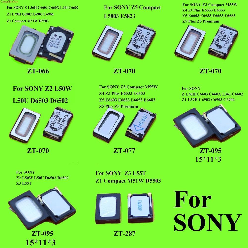 ChengHaoRan 1x Top Bottom Front Back Earpiece Ear Piece Loud Speaker For Sony Xperia Z Z1 Z2 Z3 Z4 Z5 Mini Compact Z5 Plus E6603