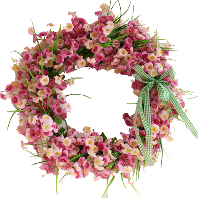 35cm 45cm artificial flowers wreaths door perfect quality artificial 35cm 45cm artificial flowers wreaths door perfect quality artificial garland for wedding decoration home party decor junglespirit Choice Image