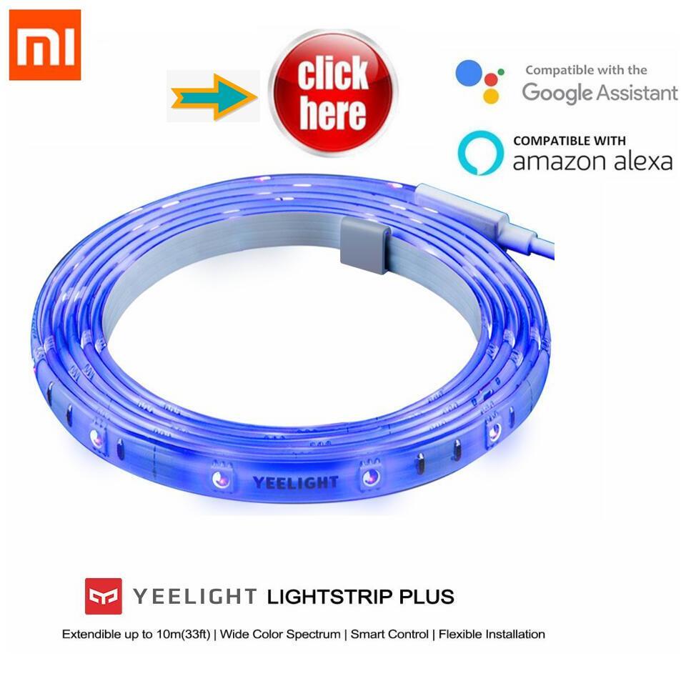 Original Xiaomi Yeelight RGB Intelligente licht band Smart home Telefon App wifi licht streifen Bunte lamm LED 2 mt 16 millionen 60 Led