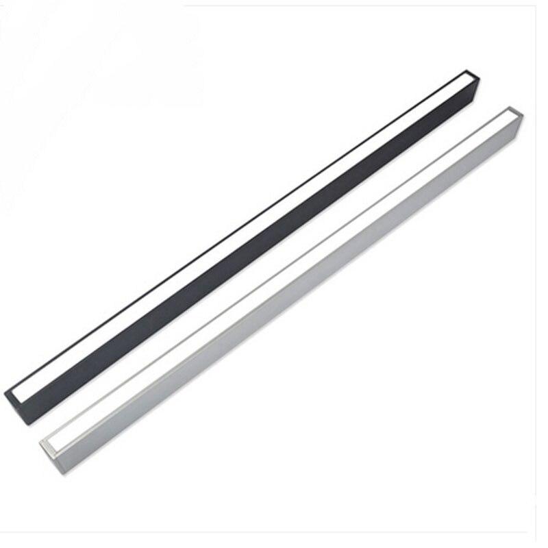 Z moderne en aluminium puce LED suspension lampe ingénierie suspendus fil bande luminaire pour bureau conférence salle étude lampe - 4