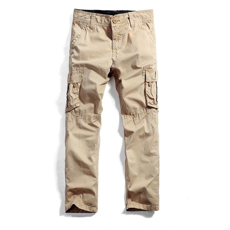Envío de la gota Nuevos Hombres Pantalones de Trabajador Militay - Ropa de hombre - foto 3