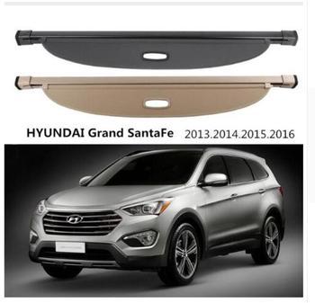 Auto accessoires Hoge Kwal Auto Kofferbak Cargo Cover Security Shield Screen schaduw Fit Voor HYUNDAI Grote SantaFe 2013- 2016
