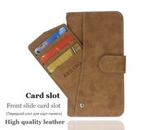 Hot! Zoji S12 Case High quality flip leather phone bag cover case for with Front slide card slot