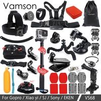 Vamson For Gopro Hero 5 Accessories Kit Storage Bag Waterproof For Gopro Hero 5 4 3