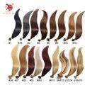 Frete grátis 100g/pac grau 6a natural em linha reta cabelo remy u ponta fusão da queratina da extensão do cabelo humano 18 ''-24'' pode ser personalizado