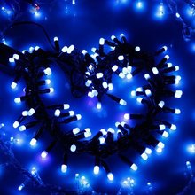 Christmas light outdoor led string icicle for home wedding party festival decoration lighting PVC cable festoon lights bulb lamp salt water power christmas lamp string lights innovation upgrading led lanterns party lighting home decoration light qf 167a10