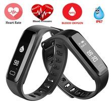 G15 Смарт часы здоровья Фитнес трекер сердечного ритма Приборы для измерения артериального давления крови кислородом Мониторы браслет SmartWatch Смарт Браслет