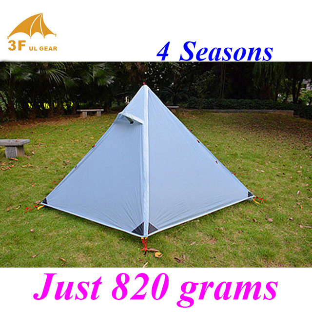 Just 820 grams 4 seasons 1 person 2 layers 3F outdoor c&ing pyramid tent  sc 1 st  AliExpress.com & Just 820 grams 4 seasons 1 person 2 layers 3F outdoor camping ...