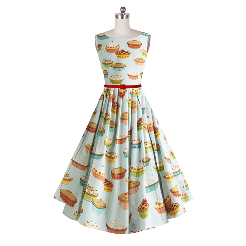 plus retro dress 60s