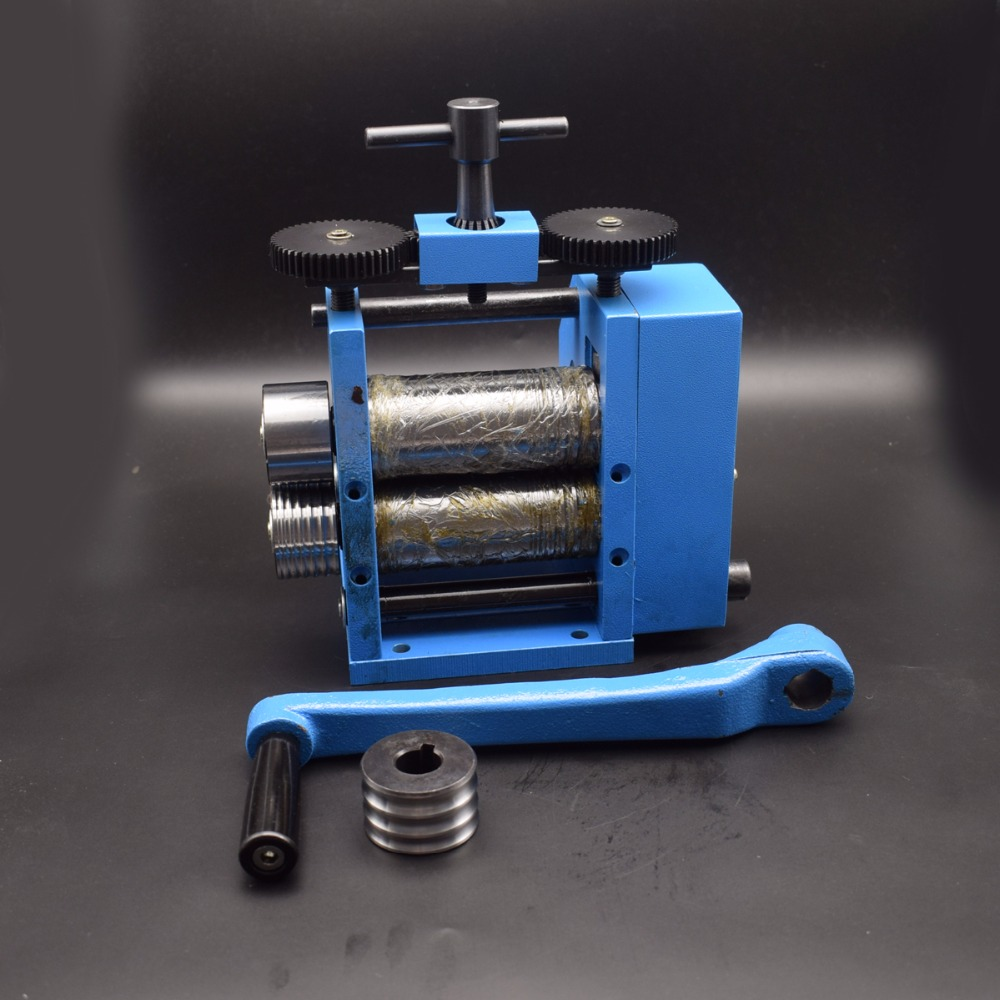Manual Combination Jewelry Rolling Mill European Style Metal Wire ...
