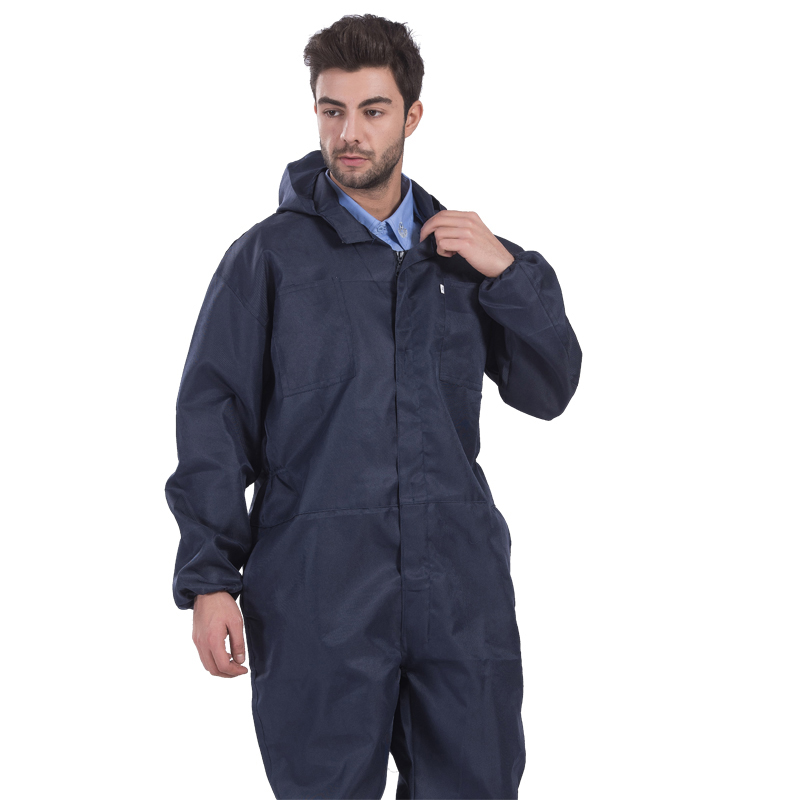 Men Work Clothing Thin Style Long Sleeve Hooded Coveralls Camouflage Dust-proof Anti-pollution Painting Auto Repair Overalls 4XL new men overalls denim work clothing long sleeve hooded coveralls labor overalls for machine welding auto repair painting m 4xl