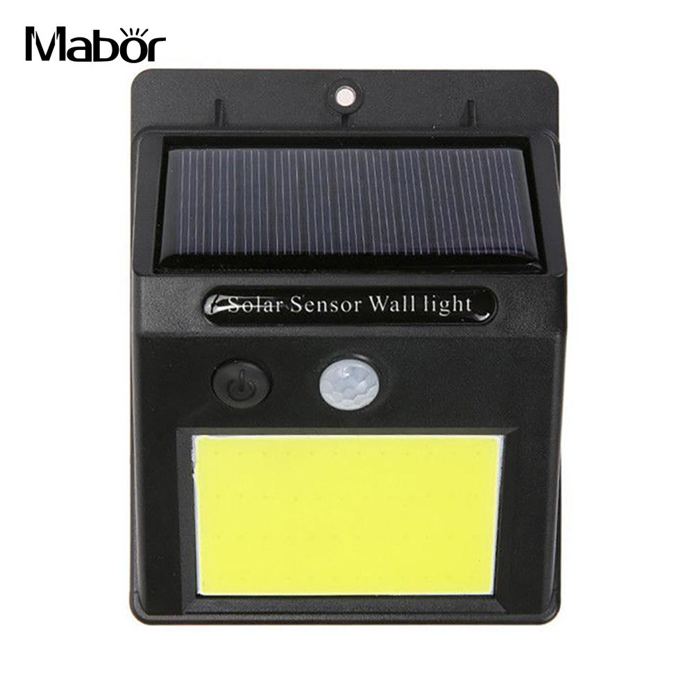 Walkway Lights Wall Light Induction Light Fence Light Eco-Friendly Outdoor Street Lamp Durable Solar Power Motion Sensor