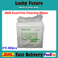 Ferramenta de Limpeza de fibra de Papel Livre de Poeira Kimwipes 0609 6*6 300 Pçs/caixa Delicado Wipers Tarefa