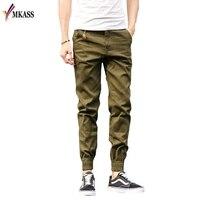 2017 Top Quality New Brand Mens Print Beam Foot Pants Sport Joggers Pencil Pants Men Hip
