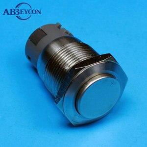 TY 1910F 19 мм высокий круглый контактный терминал мгновенная функция 1NO1NC антивандальный переключатель